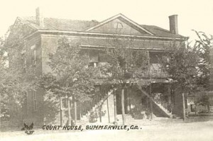 Courthouse before 1909