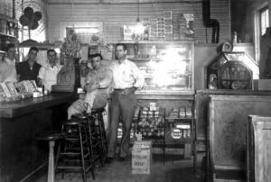 Lyerly Cafe 1942