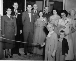 Farmer and Merchants Bank, Grand Opening of New Buildiing 1955