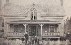 J.V. Wheeler Family 1891 Summerville