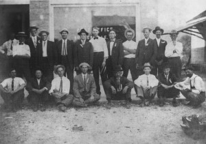 Chattooga County Postal Workers , circa 1920