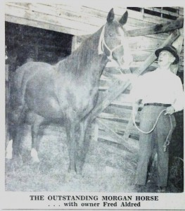 At the Chattooga County Fair 1960