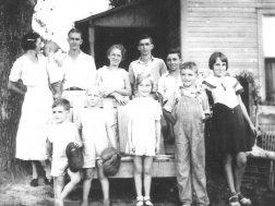 The Jack Bryant family, Lyerly 1930s