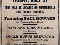 Touring Grand Ole Opry Show Comes To Town in 1944