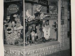 Edwards Pharmacy in downtown Menlo mid 1950's
