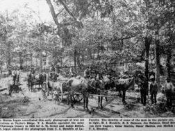 Mining Iron Ore on Taylor Ridge Early 1900s