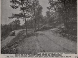 """The """"old road"""" up the mountain to Cloudland"""
