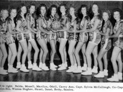Subligna High Girls Basketball Team  mid 1950's
